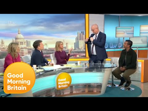 Iain Dale Walks out in the Middle of a Debate | Good Morning Britain