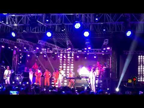 Sorprendente concierto de Gente de Zona en La Cecilia CUBA
