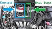 2003 2004 2005 2006 2007 Honda Accord 4 Cylinder 2 4 Belt Diagram Youtube