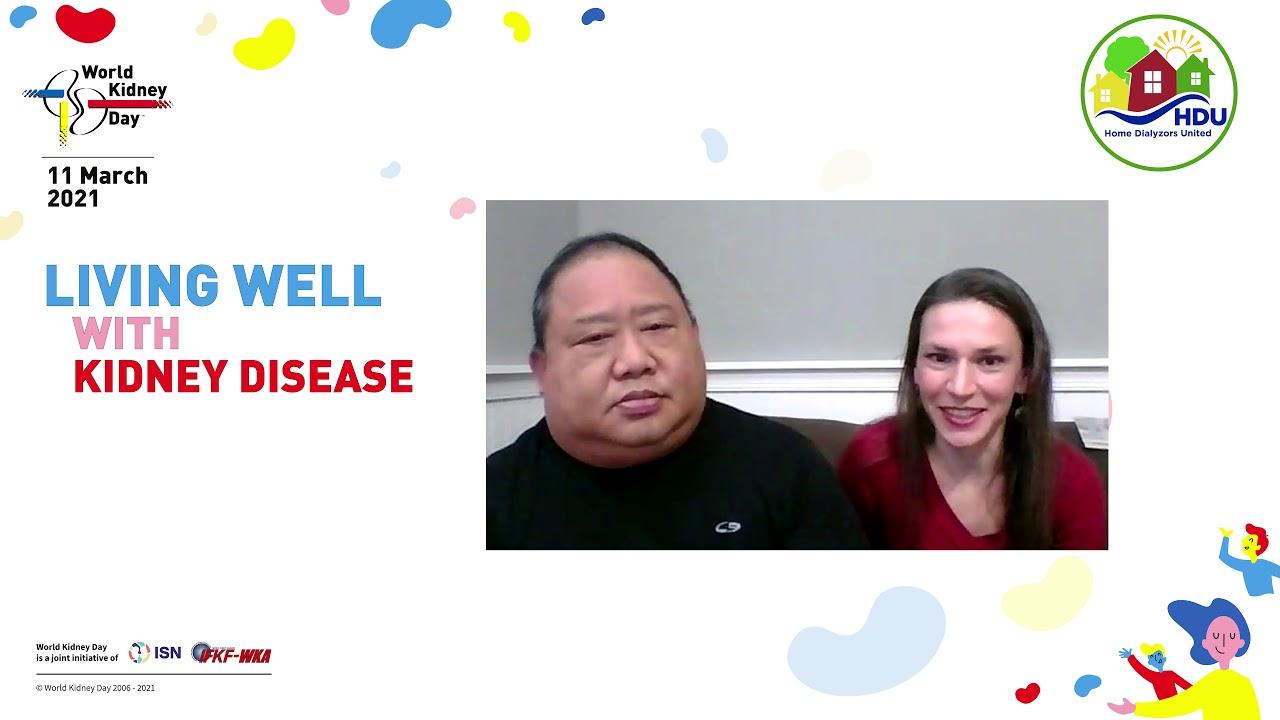 RJ & Ashley - World Kidney Day