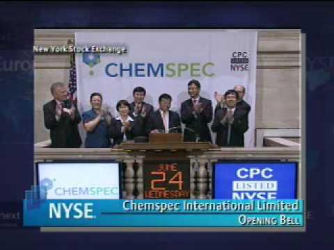 Shanghai Chemspec IPO