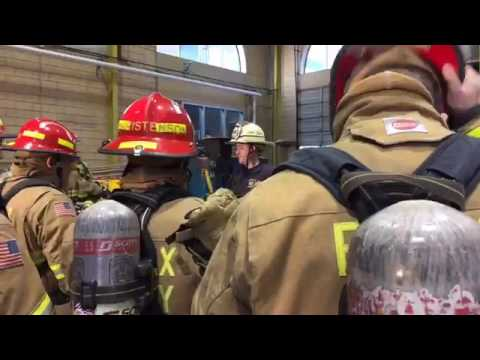 Recruit School 141 Learns More About Forcible Entry