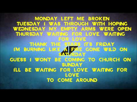 waiting for your love lyrics: