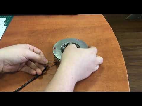 Устройство электромагнитного тормоза сервопривода