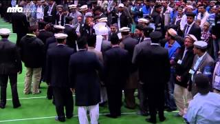 Jalsa Salana Germany 2013: Inspection (Moaina) by Hazrat Mirza Masroor Ahmad (Khalifa of Islam)