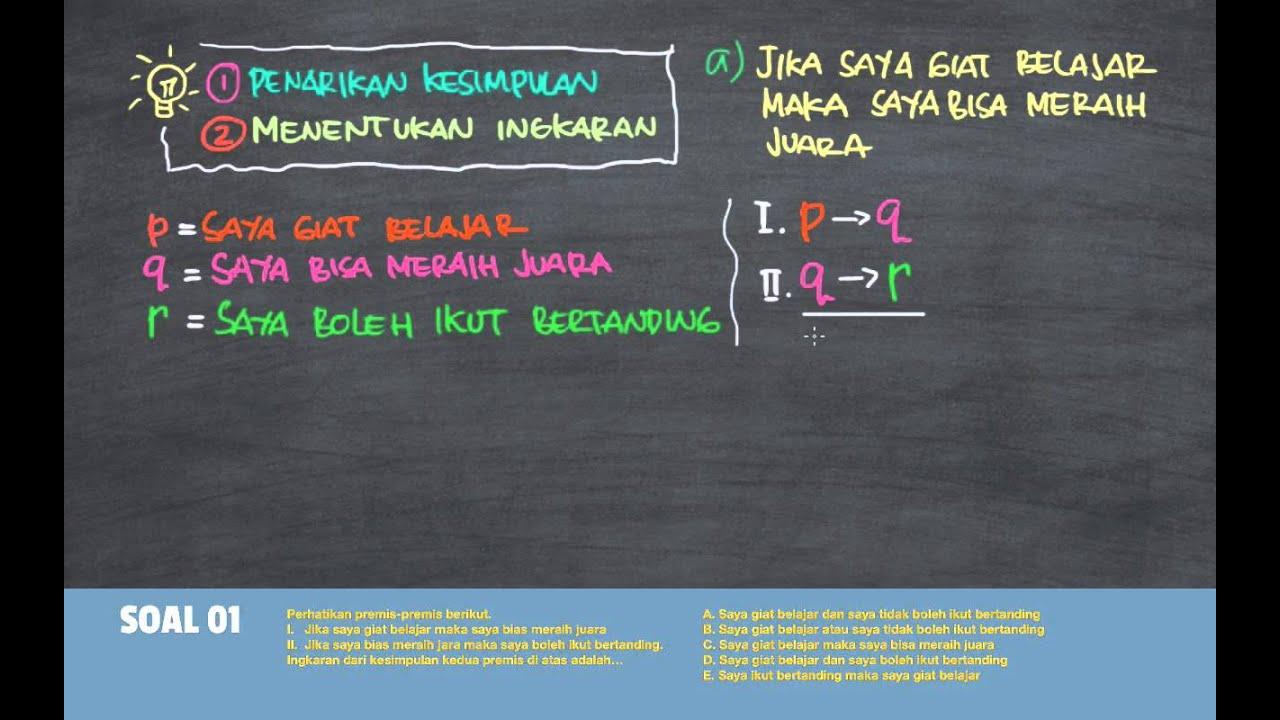 Materi Logika Matematika Pdf