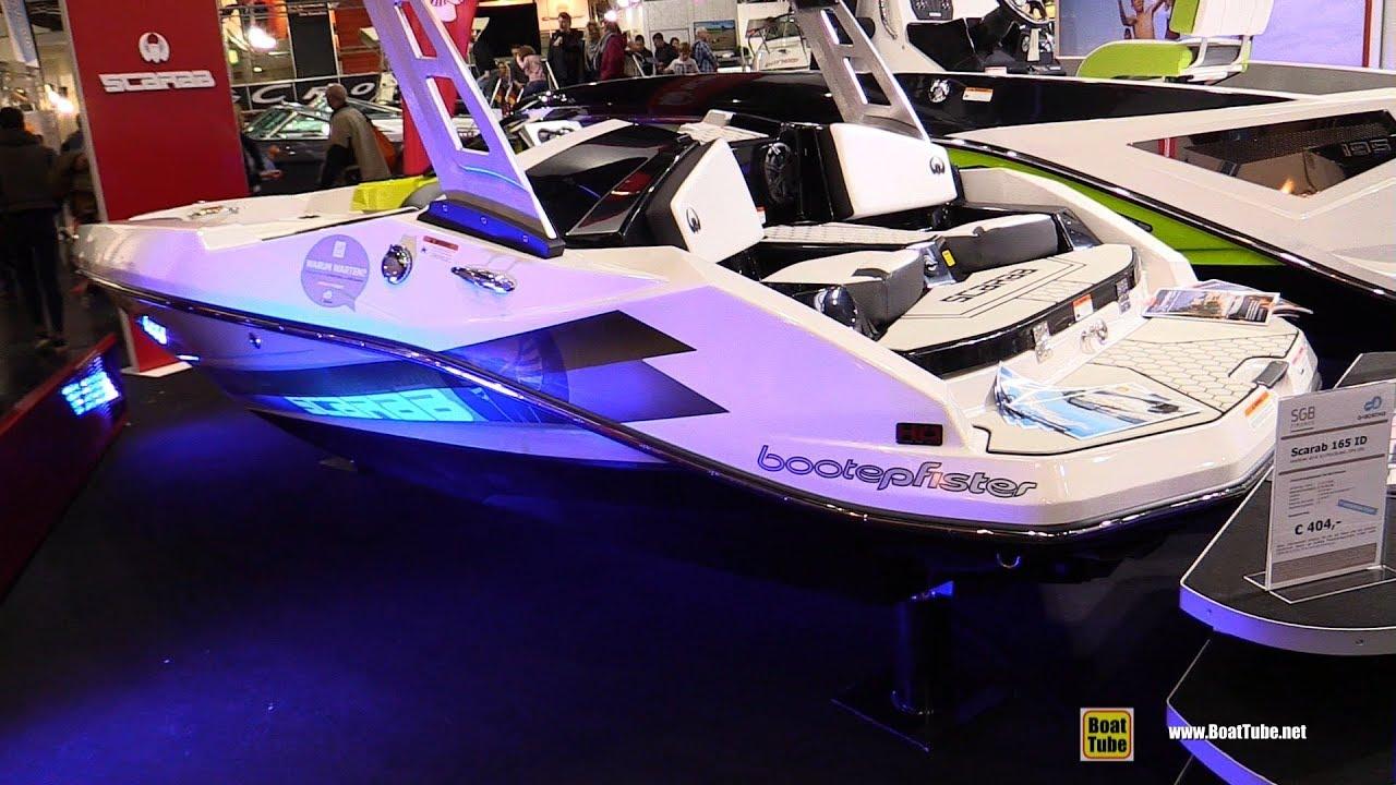 2018 Scarab 165 ID Jet Boat - Walkaround - 2018 Boot Dusseldorf Boat Show