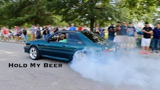 Mustang Week 2017 Pullouts & Burnouts