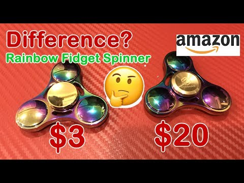 real-difference-3$-vs-20$-rainbow-fidget-spinner-review-on-amazon-2017