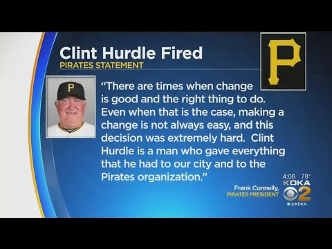 Pirates Fan React To Firing Of Manager Hurdle