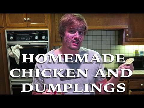 HOMEMADE CHICKEN AND DUMPLINGS (family recipe)