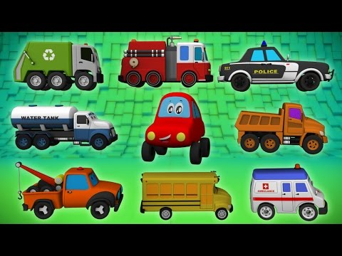 kids Street Vehicles | Vehicles For Kids | 3D videos