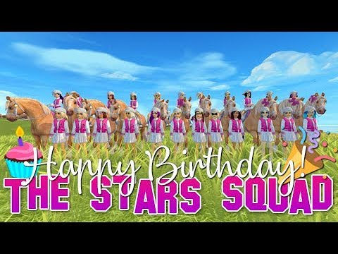Happy One Year Birtay  The Stars Squad  Star Stable Online