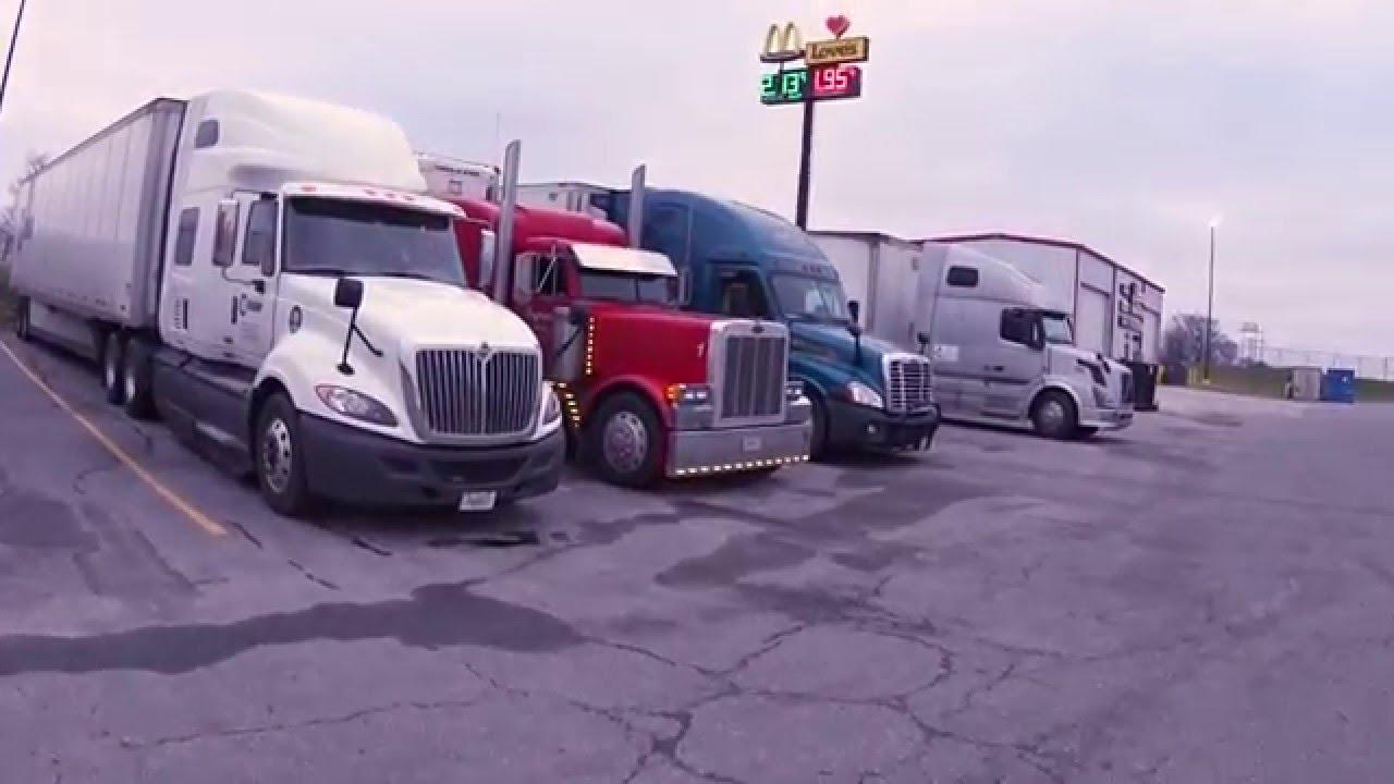 Truck stop newton road