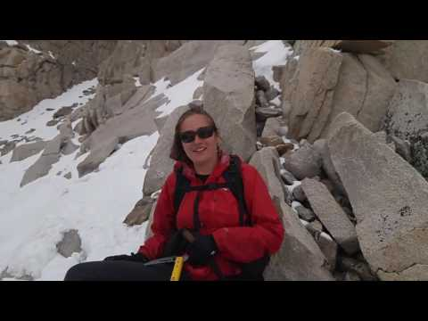 rebo on the pct Mount Whitney Ascent