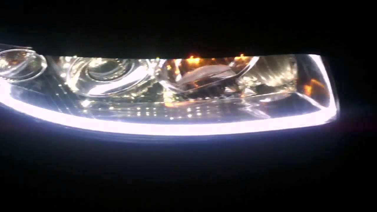 обзор фар Ауди а4 б6