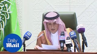 Saudi Minister Adel al-Jubeir does not want to go to war with Iran