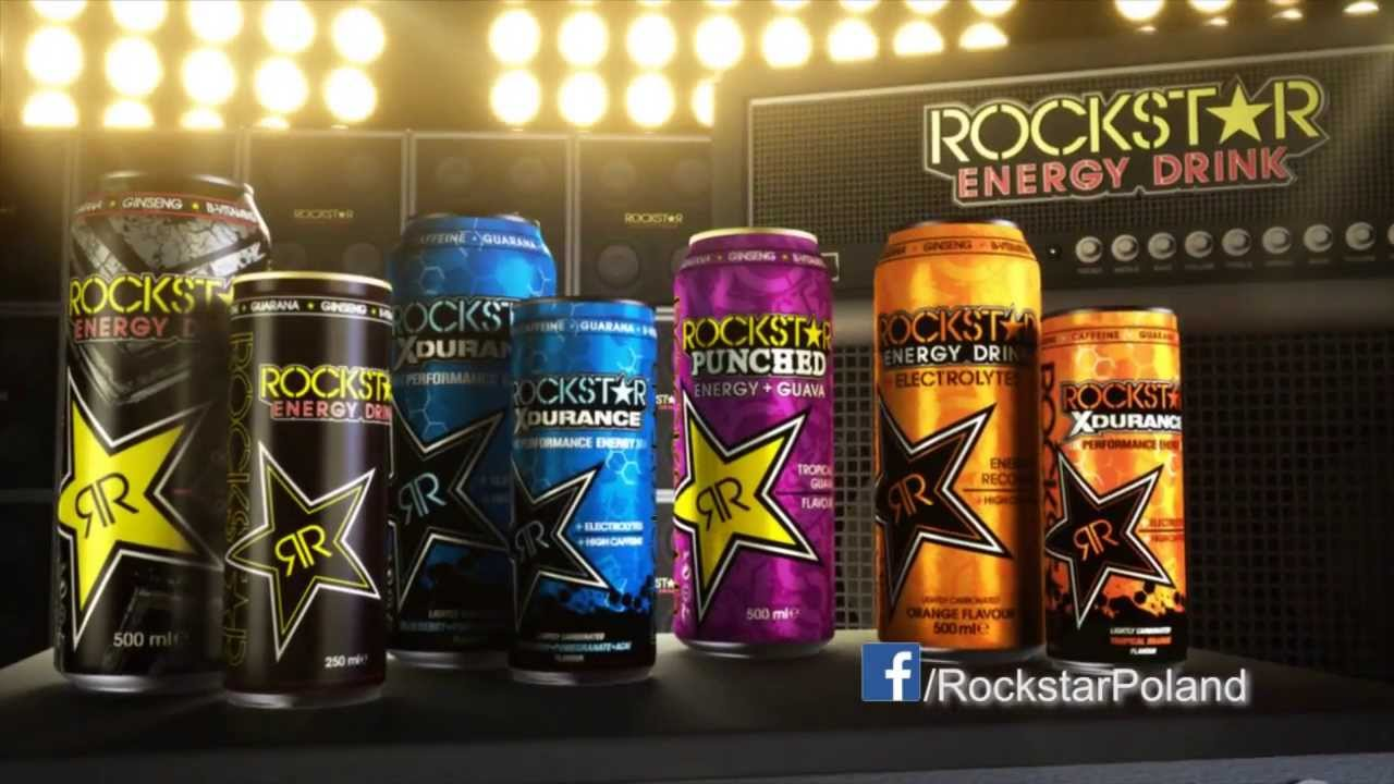 rockstar energy drink nowy wymiar energii w 4 rockowych smakach youtube. Black Bedroom Furniture Sets. Home Design Ideas