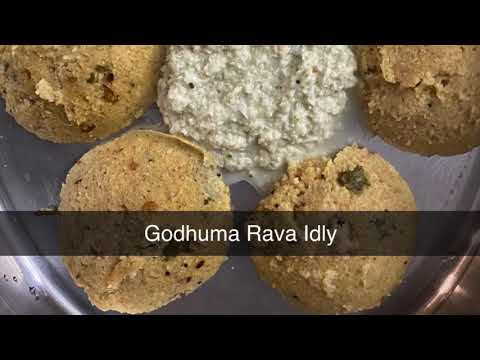 Godhuma Rava Idly | Instant Wheat Idly | Quick Breakfast | Diabetic friendly | healthy Indian Recipe