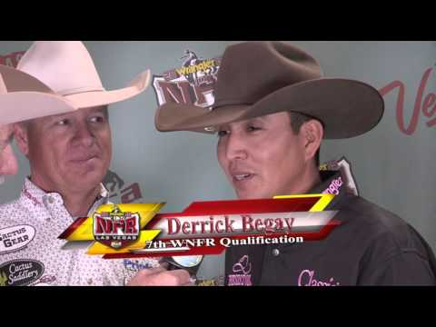 Derrick Begay and Clay O'Brien Cooper Winning Attitude  NFR 2015