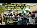 Jamaicans leaving Jamaica in numbers Modern day exadous