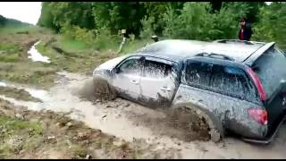 Грязь жесть Mitsubishi l200
