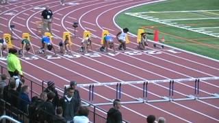 2012 NAIA Indoor Track 60m Women's Hurdle Final, Azusa Pacific's Breanna Leslie