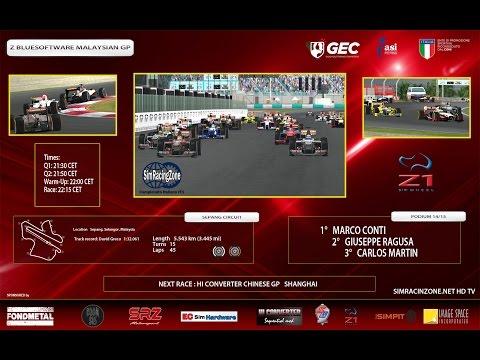 [rFactor2] [Campionato Italiano rF1] ROUND 02: Malaysia