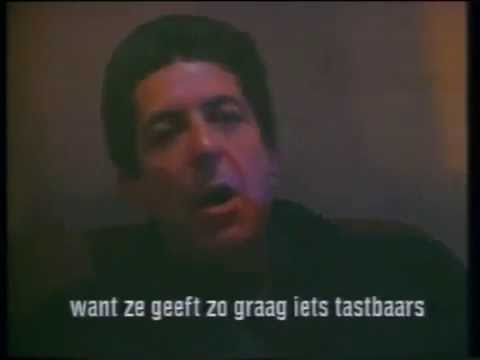Leonard Cohen - I Am A Hotel - TV movie music video