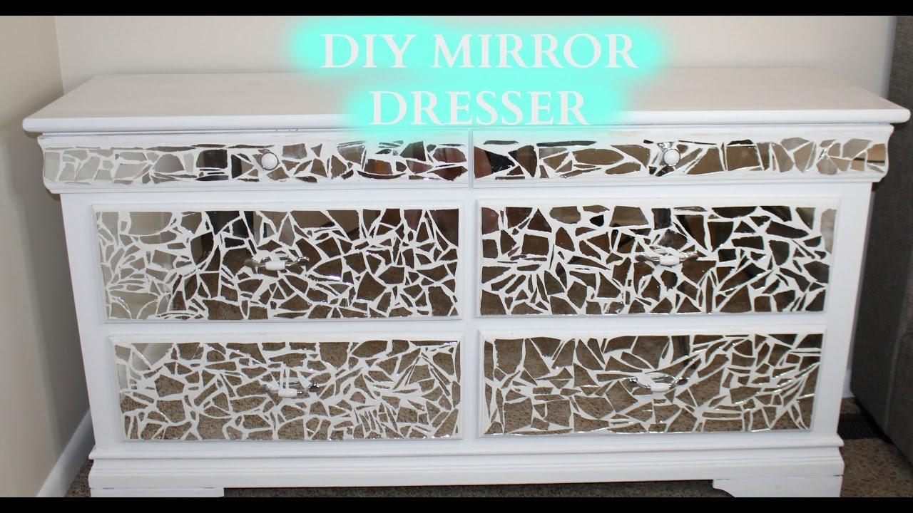 Diy Mirror Dresser Under 100