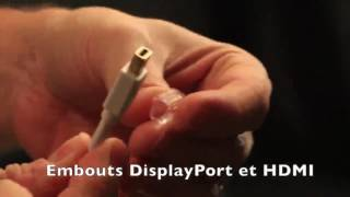 Ugreen Câble Adaptateur Convertisseur Mini DisplayPort Thunderbolt vers HDMI pour Microsoft Surface