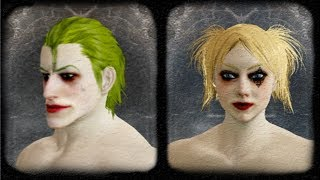 Joker and Harley in Dark Souls 2 (My Version)