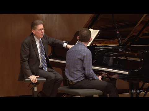 Mackenzie Melemed, Piano | Juilliard Robert Levin Piano Master Class