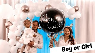 Baby Gender Reveal Party / Boy or girl / mama.gosiasamosia