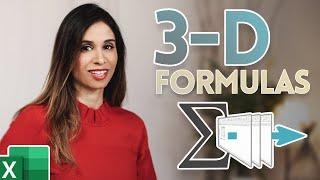 Excel 3D Formulas Explained (Includes a Bonus Excel Hack!)