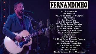 Fernandinho INÉDITO 2019 só AS MELHORES músicas gospel selecionadas de OURO ATUALIZADA