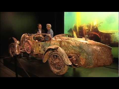 画像: 1925 Bugatti Brescia Type 22 Roadster at the Mullin Automotive Museum youtu.be