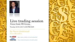 Live Trading Session Forex Godz FB Group.