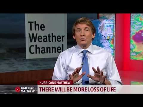 Urgent message from Bryan Norcross regarding Hurricane Matthew