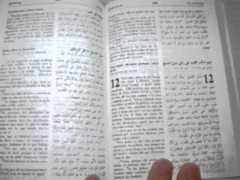 Arabic Spanish Bilingual New Testament / El Evangelio