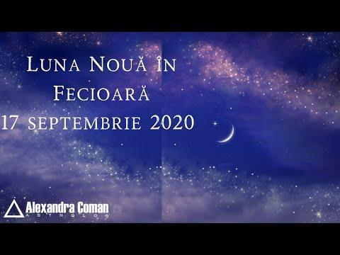 Luna Noua in Fecioara - 17 Septembrie 2020