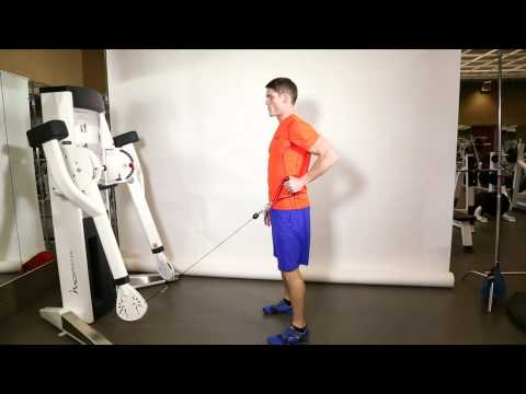 A Dual Cable Cross Workout