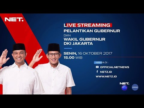 Live Streaming - Pelantikan Gubernur dan Wakil Gubernur DKI Jakarta