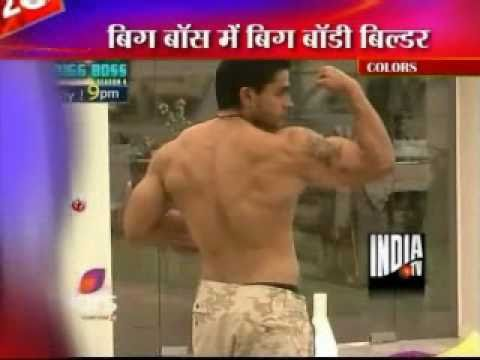 Rahul Bhatt Turns Fitness Guru Of Khali In Bigg Boss 4