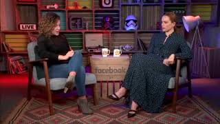 Daisy Ridley Q&A Star Wars: The Last Jedi