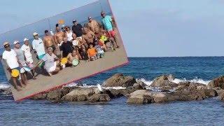 בת ים - חוף קלדרון 2015.