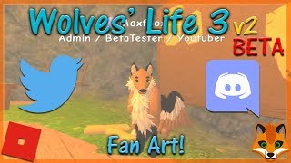 Roblox-Wolves ' Life 3 v2 BETA-Fan Art! #15-HD