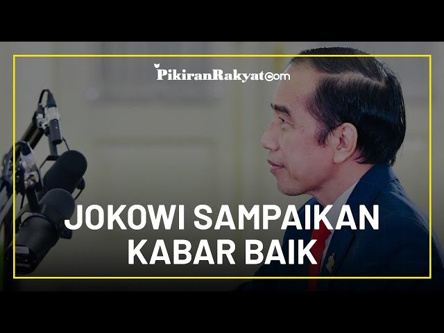 Jokowi Sampaikan Kabar Baik untuk Masyarakat di Tahun 2021, Sudah Siapkan Anggaran Rp110 Triliun