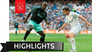 Highlights real madrid legends - ajax legends
