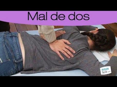 technique de massage du dos pdf